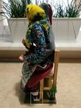 Интерьерно - коллекционная кукла ручной работы, фото №3
