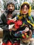 Интерьерно - коллекционная кукла ручной работы, фото №6