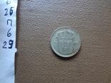 10 эре 1941 UNC  Швеция серебро    (П.6.30), фото №4