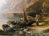 "Картина ""Горная река"" худ. Кoken Edmund 1814-1872 г photo 4"