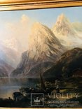 "Картина ""Горная река"" худ. Кoken Edmund 1814-1872 г photo 6"