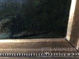 "Картина ""Горная река"" худ. Кoken Edmund 1814-1872 г photo 10"