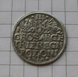 Трояк 1622 года. Сиг. ІІІ Ваза., фото №3