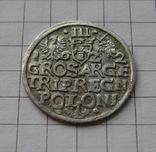 Трояк 1622 года. Сиг. ІІІ Ваза., фото №4