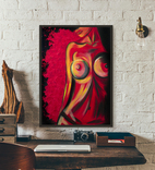 Красная страсть (масло/холст) 60х80 см, фото №2