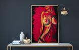 Красная страсть (масло/холст) 60х80 см, фото №5