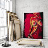 Красная страсть (масло/холст) 60х80 см, фото №6