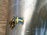 Кубок чаша (Швеция ) алюминий, фото №8