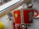 Чайный сервиз на 6 персон. Полонное, 1960-1970-е, фото №5