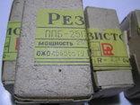 Резисторы переменные ППБ-25Г-13. 5 штук. Новые., фото №3