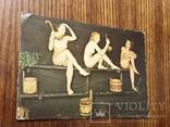 """Открытка """"Купание в бане"""", фото №3"""