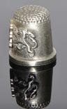 Коллекционный оловянный наперсток с гербом, фото №6