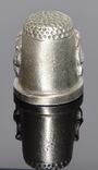 Коллекционный оловянный наперсток с гербом, фото №7