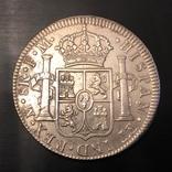 Іспанська імперія, 8 реалів, 1793 р. photo 3