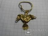 Скифская золотая подвеска, фото №4