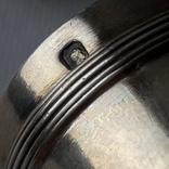 6 стопок на 40 мл, серебро, 124 грамма, Франция, фото №9