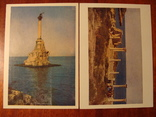 1962г. Набор открыток  поштова листівка Севастополь комплект 14 штук УССР фото Т. Бакман, фото №12