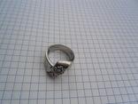 Кольцо из белого золота с масонской символикой фото 2