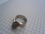 Кольцо из белого золота с масонской символикой фото 3