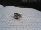 Кольцо из белого золота с масонской символикой фото 5