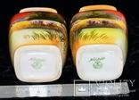 Noritake эпохи Мейдзи Фарфор, рельефная ручная роспись. Япония, начало ХХ века, фото №12