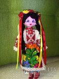 Авторская кукла ручной работы. 23 см., фото №2