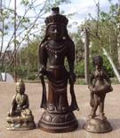 Будды, три статуэтки одним лотом., фото №13