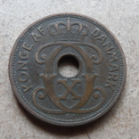 2 эре 1928  Дания     (П.7.25)~, фото №3