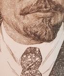 Портрет В.И.Ленина. Член союза художников СССР Вихтиниский В. 1965 фото 4