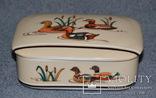 Шкатулка из Японского фарфора. Утки, фото №4