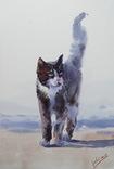 """Картина """"Кот"""". Микитенко Виктор photo 1"""