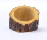 Охотничье кольцо из рога с эдельвейсом., фото №8