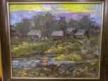 """Картина В. Мазур """"Вечер"""" 2006, фото №3"""