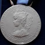 Региональная, Ведомственная, Коммунальная Почётная медаль, Франция, серебро, 20+ грамм photo 2
