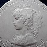 Региональная, Ведомственная, Коммунальная Почётная медаль, Франция, серебро, 20+ грамм photo 3