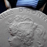 Региональная, Ведомственная, Коммунальная Почётная медаль, Франция, серебро, 20+ грамм photo 5