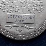 Региональная, Ведомственная, Коммунальная Почётная медаль, Франция, серебро, 20+ грамм photo 10