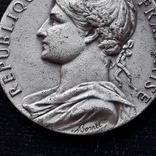 Франция, Почётная Медаль Труда, серебро, 10- грамм photo 3