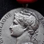 Франция, Почётная Медаль Труда, серебро, 10- грамм photo 4