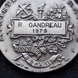 Франция, Почётная Медаль Труда, серебро, 10- грамм photo 9