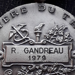 Франция, Почётная Медаль Труда, серебро, 10- грамм photo 10