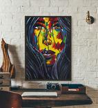 Портрет девушки (масло/холст) 60х80 см, фото №2