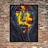 Портрет девушки (масло/холст) 60х80 см, фото №4