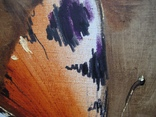 """""""Бабочка"""". Холст, масло, акрил. 40х40 см. Гузeнко П., фото №7"""