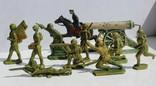 Рижские солдатики первый выпуск (50-е года)