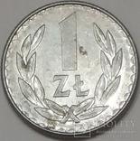 Польща 1 злотий, 1987