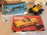 3 винтажные авто на радиоуправлении, фото №2