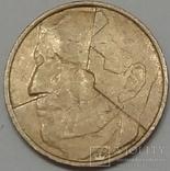 Бельгія 5 франків, 1986 фото 2