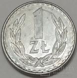 Польща 1 злотий, 1986