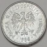 Польща 1 злотий, 1986 фото 2